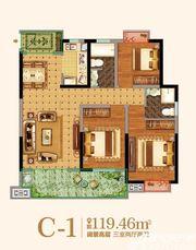 金马爱梦庄园C-13室2厅119.46㎡