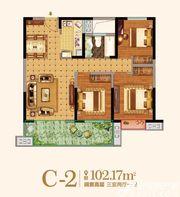 金马爱梦庄园C-23室2厅102.17㎡