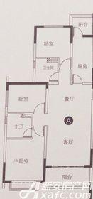 恒大滨江左岸A3室2厅118.24㎡