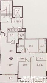 恒大滨江左岸B3室2厅121.92㎡