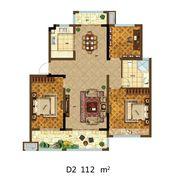 尚泽壹号院D23室2厅112㎡