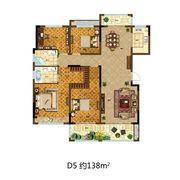 尚泽壹号院D54室2厅138㎡