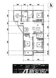 恒业怡和庄园F23室2厅107.77㎡