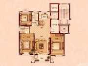红星生活广场三室两厅两卫3室2厅120.29㎡
