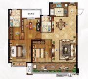 合景庐月湾115-118㎡G3户型图3室2厅115㎡