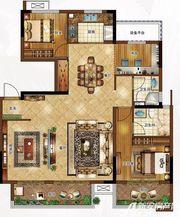 合景庐月湾130㎡Y3户型图3室2厅130㎡