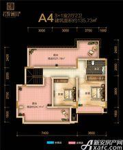 融翔·君悦澜山1#2#A4户8F4室2厅135.73㎡