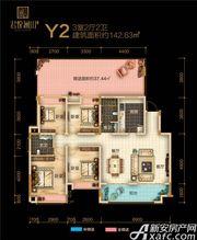 融翔·君悦澜山5#Y2户3F3室2厅142.63㎡