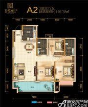 融翔·君悦澜山19#20#A2户3室2厅116.78㎡