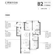 汇景城市中心B23室2厅120.65㎡