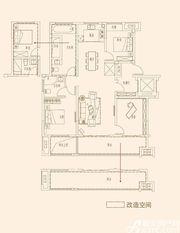 皖新国玺A户型4室2厅128㎡