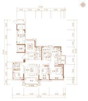 合肥万达城G1户型5室2厅188㎡