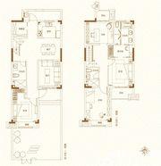 鸿坤理想城叠墅13室2厅150㎡
