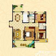 时代名门D3室2厅129.38㎡
