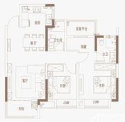 御璟江山G08、G09|A户型3室2厅96㎡