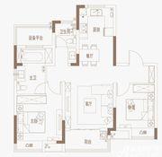 御璟江山G08、G09|B户型3室2厅97㎡