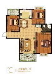 富安德森广场2# C3室2厅121㎡