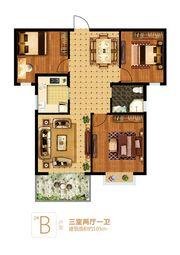 富安德森广场2# B3室2厅105㎡