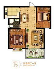 富安德森广场1# B2室2厅86㎡