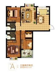 富安德森广场1# A3室2厅113㎡