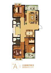 富安德森广场2# A3室2厅116㎡