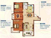 海棠湾X户型3室2厅105.8㎡