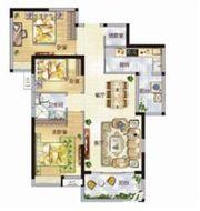 东菱城市新地C23室2厅108㎡