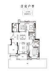 金科庐州樾127㎡一层4室2厅127㎡