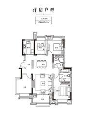 金科庐州樾127㎡二层4室2厅127㎡