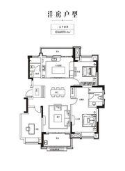 金科庐州樾140㎡二层3室2厅140㎡
