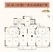 恒大悦府5#6#13#3室2厅130㎡