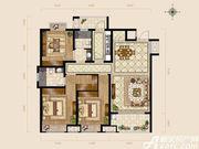 逸龙山庄H户型3室2厅127.46㎡