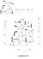 文一云溪湾Y3-A4室2厅105㎡