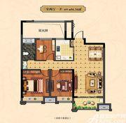 中辰一品14#3室2厅86.56㎡
