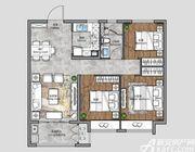 保利合景珑湾C23室2厅90㎡