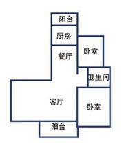 提香湾G3#顶层边户户型2室1厅186㎡