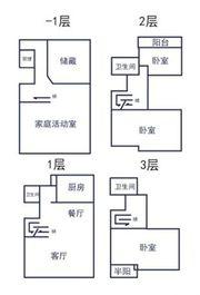 提香湾B8#一楼别墅边户户型3室2厅416㎡