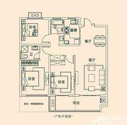 丽丰凯旋门G33室2厅115㎡