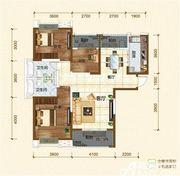 铜冠迎江花园B13室2厅116.86㎡