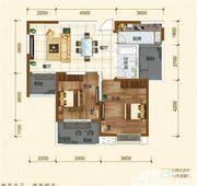 铜冠迎江花园B22室2厅89.02㎡