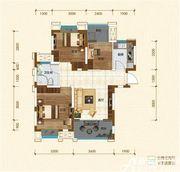 铜冠迎江花园B43室1厅95.57㎡