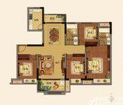 美的城C户型136㎡4室2厅136㎡