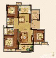 美的城E户型118㎡3室2厅118㎡