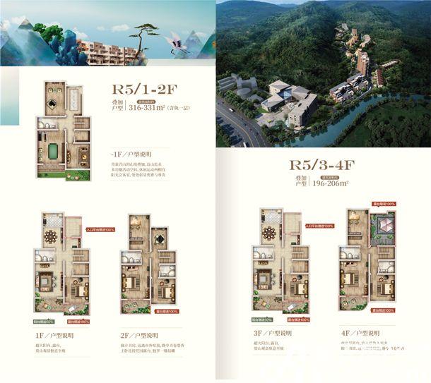 黄山上谷居叠加R56室3厅520平米
