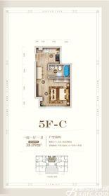 黄山上谷居5FC1室1厅38㎡