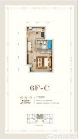 黄山上谷居6FC1室1厅38㎡