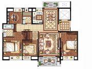 置地皖江府E户型(小高层)4室2厅143㎡