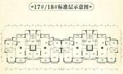 恒大林溪郡17#、18#标准层3室2厅124.73㎡