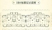 恒大林溪郡19#标准层3室2厅123.6㎡