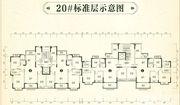 恒大林溪郡20#标准层4室2厅127.42㎡
